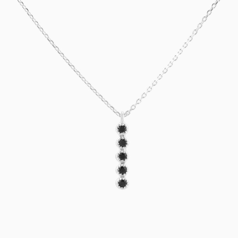 Grace Black Spinel Necklace