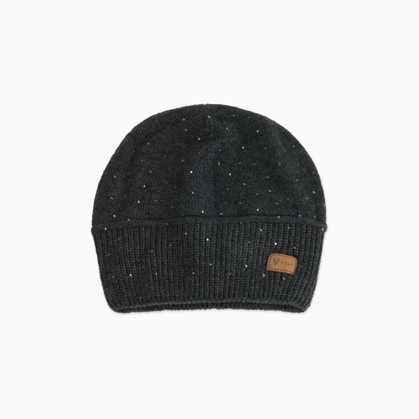 Cashmere Beanie Diamond Dark Grey