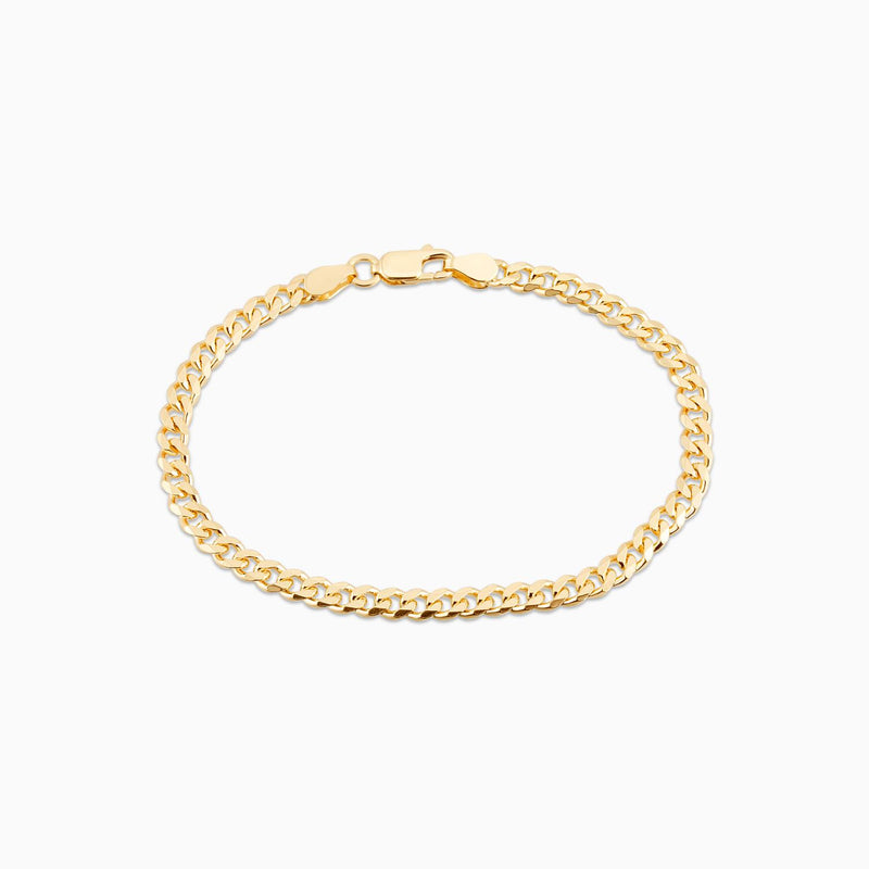 Golden Gourmet Bracelet Thin 6.5 Inch