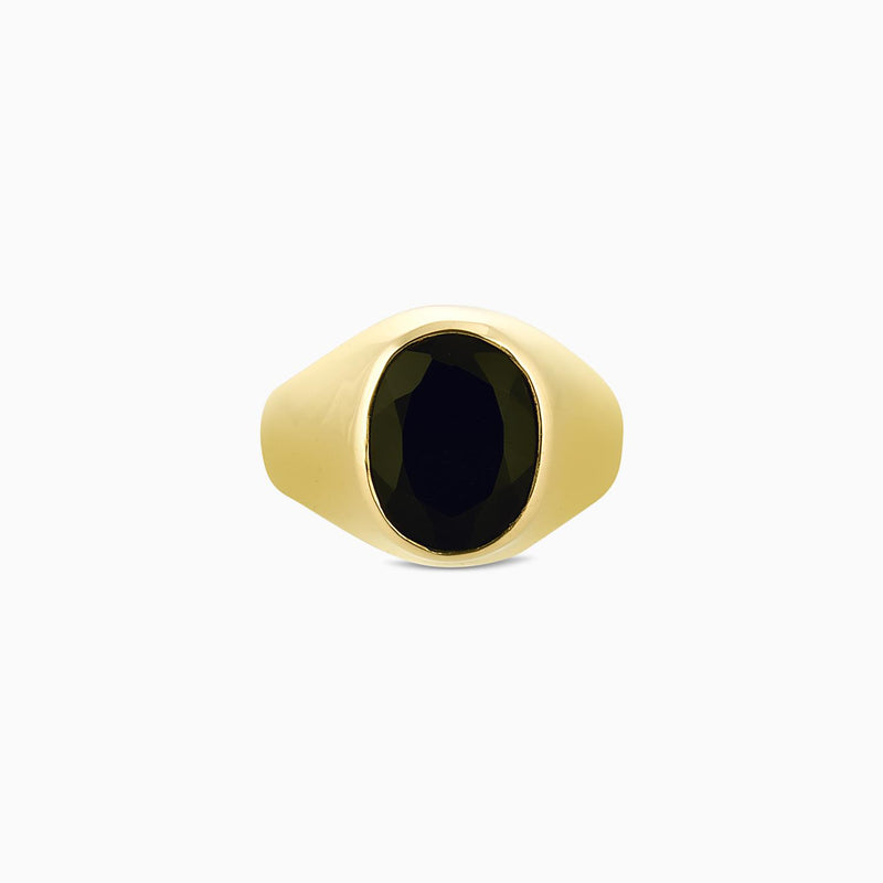 Oval Signet Black Onyx