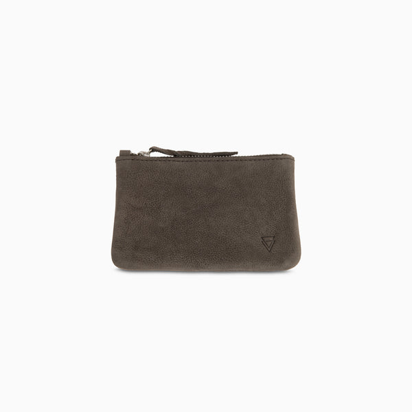Coin Purse Grey Nubuck