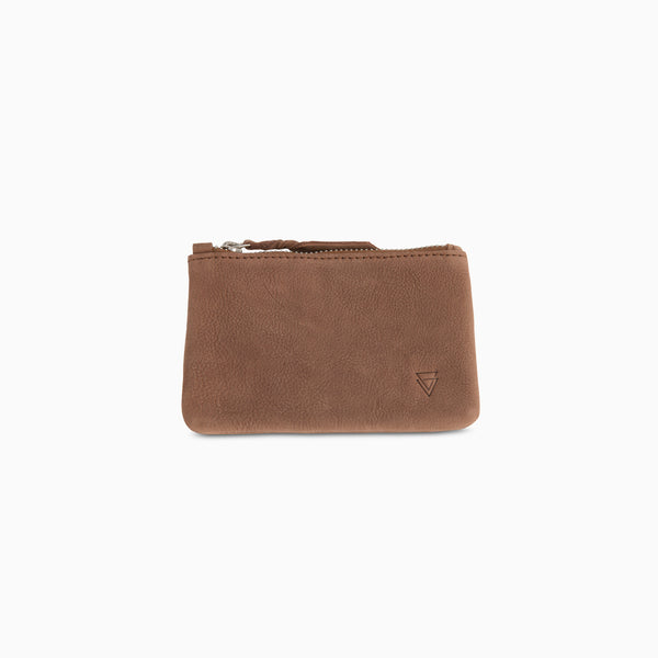 Coin Purse Brown Nubuck