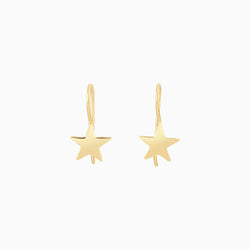 Golden Star Earrings