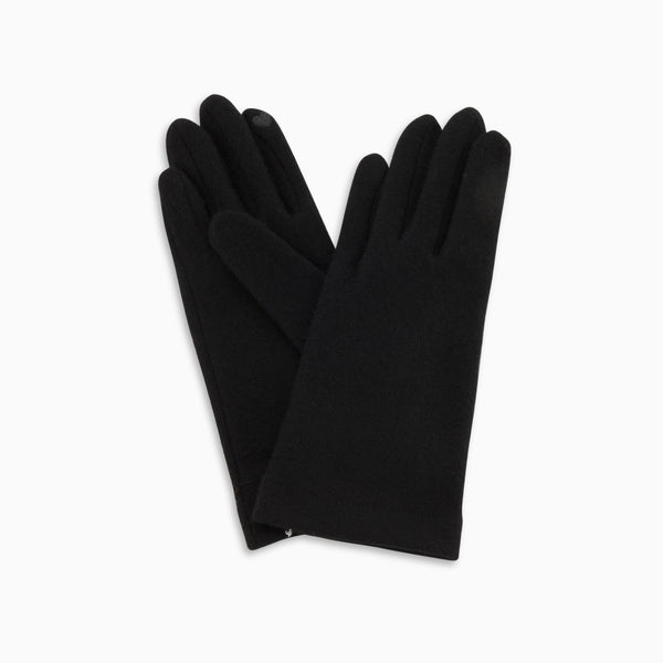 Classic Wool Touch Gloves Black