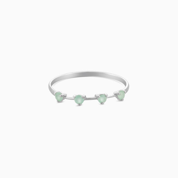 Grace Green Aventurine Ring