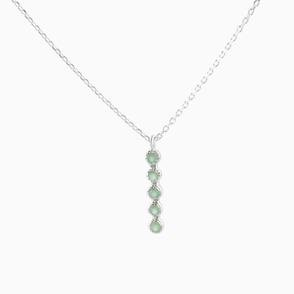 Grace Green Aventurine Necklace