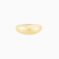 Golden Dewdrop Ring