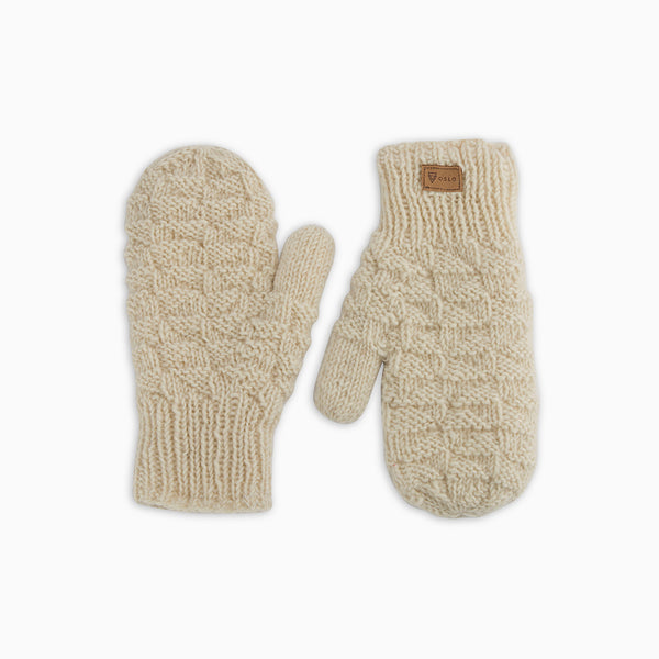 Jorunn Gloves White