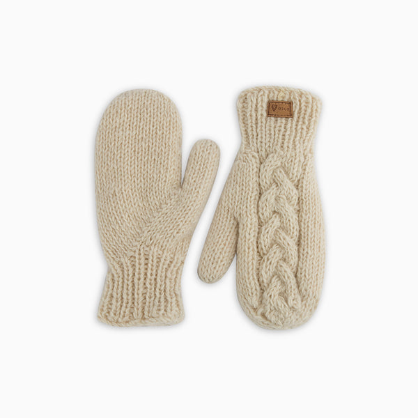 Kari gloves white
