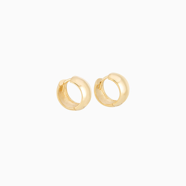 Golden Reversible Hoops