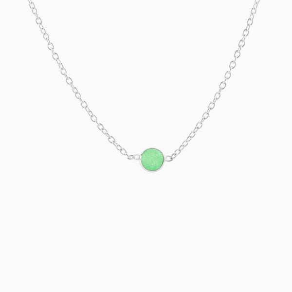 Satin Green Aventurine (Necklace)