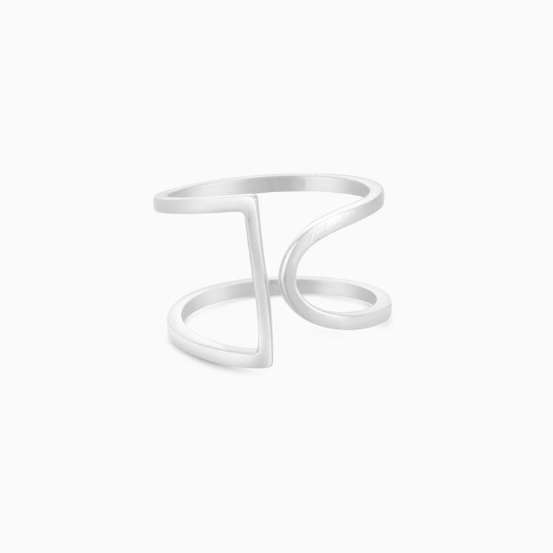 Silver Shape Ring