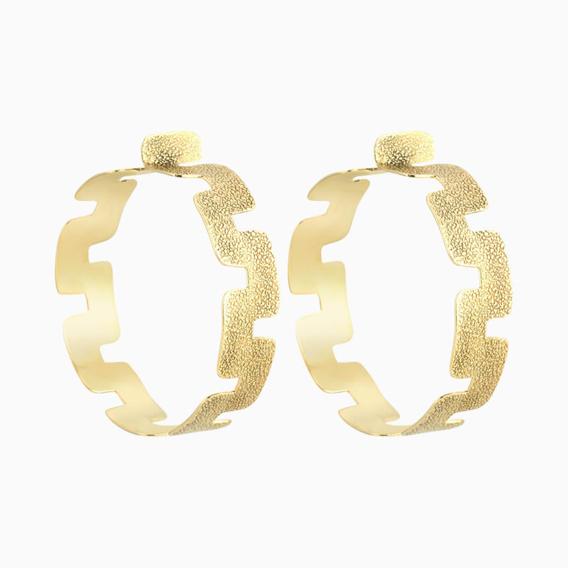 Labyrinth Hoops 50mm