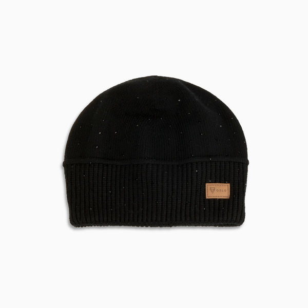 Cashmere Beanie Diamond Black