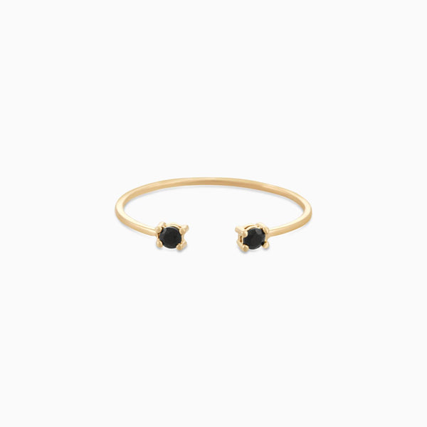 Claws Black Spinel Ring