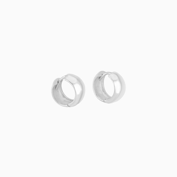 Reversible Chunky Hoops 12mm