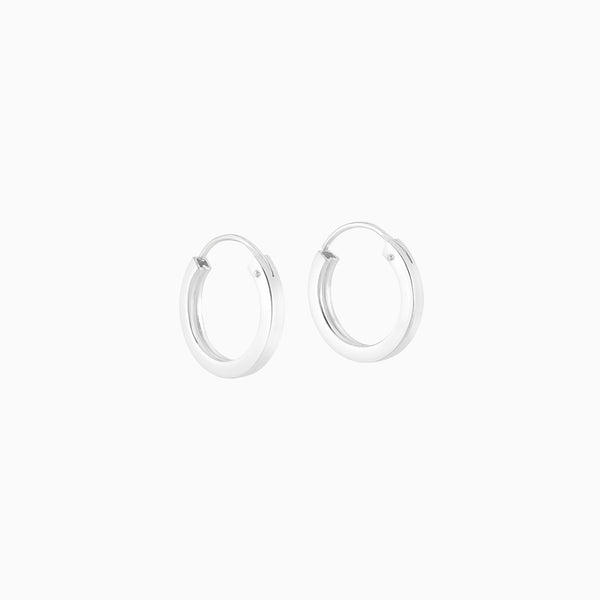 Firkantede Hoops 2x14mm
