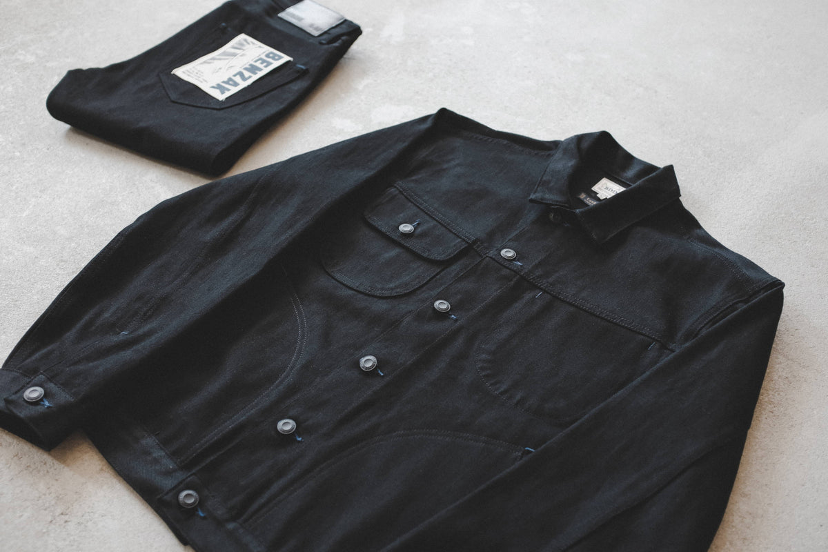 BLACK SELVEDGE DENIM
