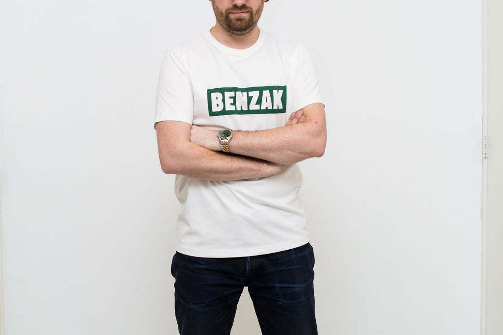 benzak Denim Developers blog post tees ss19 heavy jersey box logo bt-04 graphic