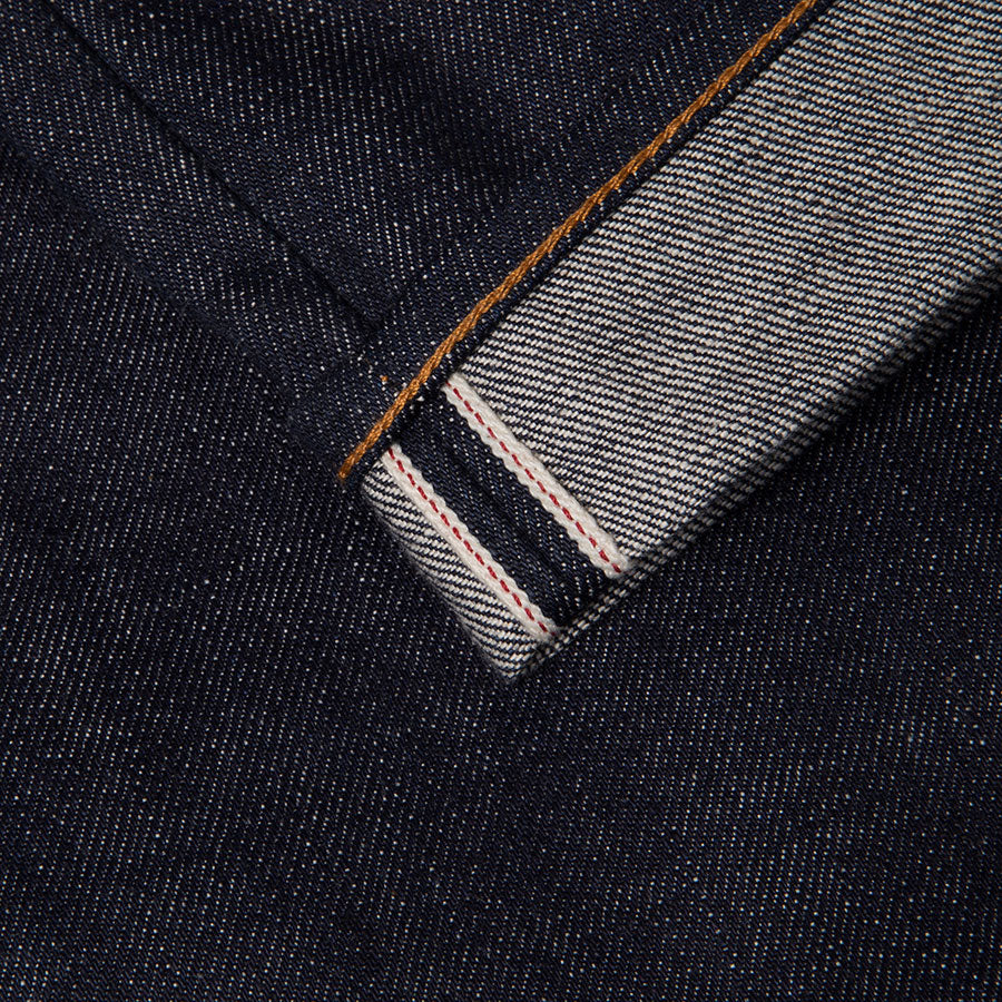 men's slim fit japanese selvedge denim jeans | indigo | benzak B-01 SLIM 15.5 oz. Kojima selvedge | selvedge id