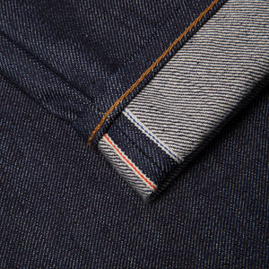 men's tapered fit japanese selvedge denim jeans | indigo | benzak | B-03 TAPERED special #2 15 oz. vintage indigo selvedge | candiani | selvedge id