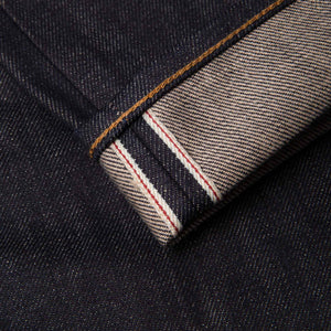 men's relaxed fit italian selvedge denim jeans | benzak B-04 RELAXED 13 oz. brown cotton selvedge | selvedge id