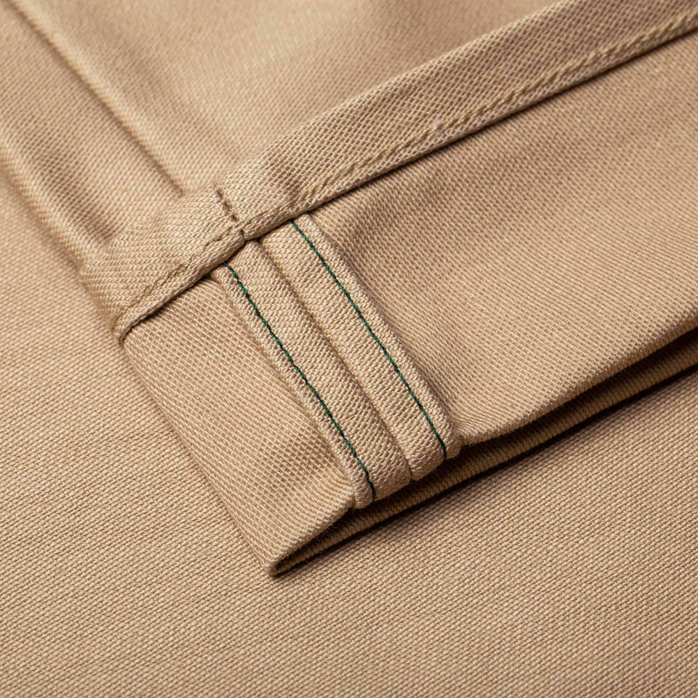 BC-01 TAPERED CHINO 10 oz. sand military twill