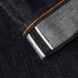 mens slim japanese selvedge denim jeans | indigo | made in japan | benzak BDD-006 grey cast 13.5 oz. LHT | selvedge