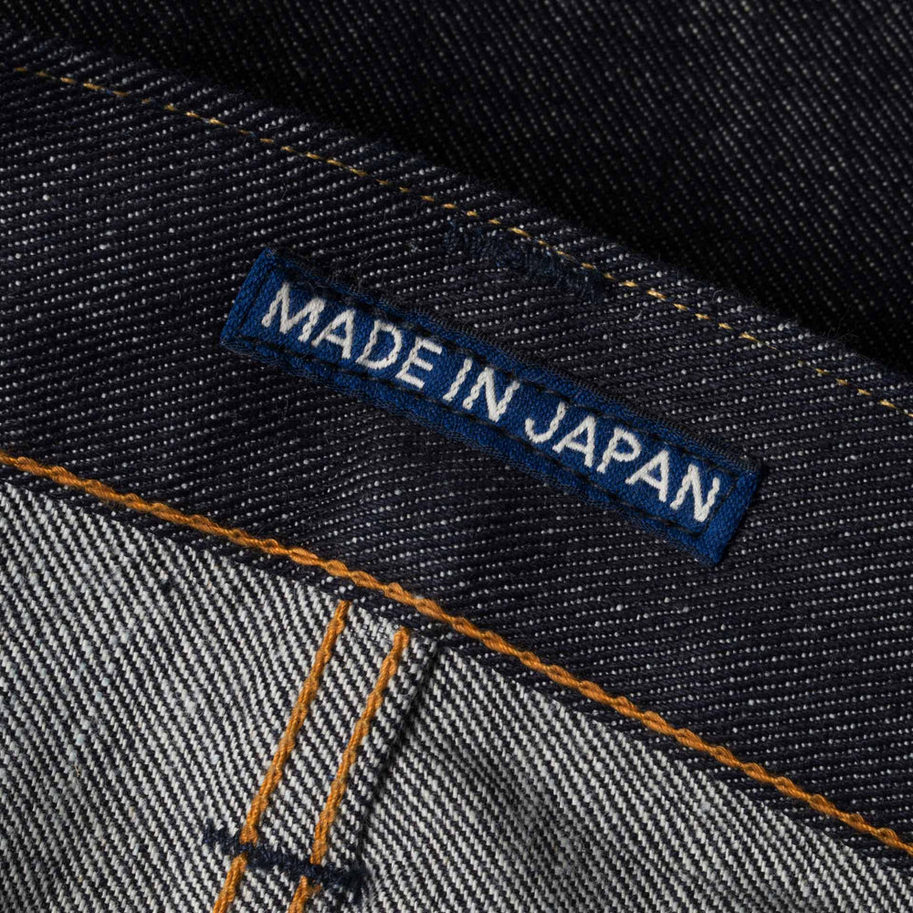 mens slim japanese selvedge denim jeans | indigo | made in japan | benzak BDD-006 grey cast 13.5 oz. LHT | brand