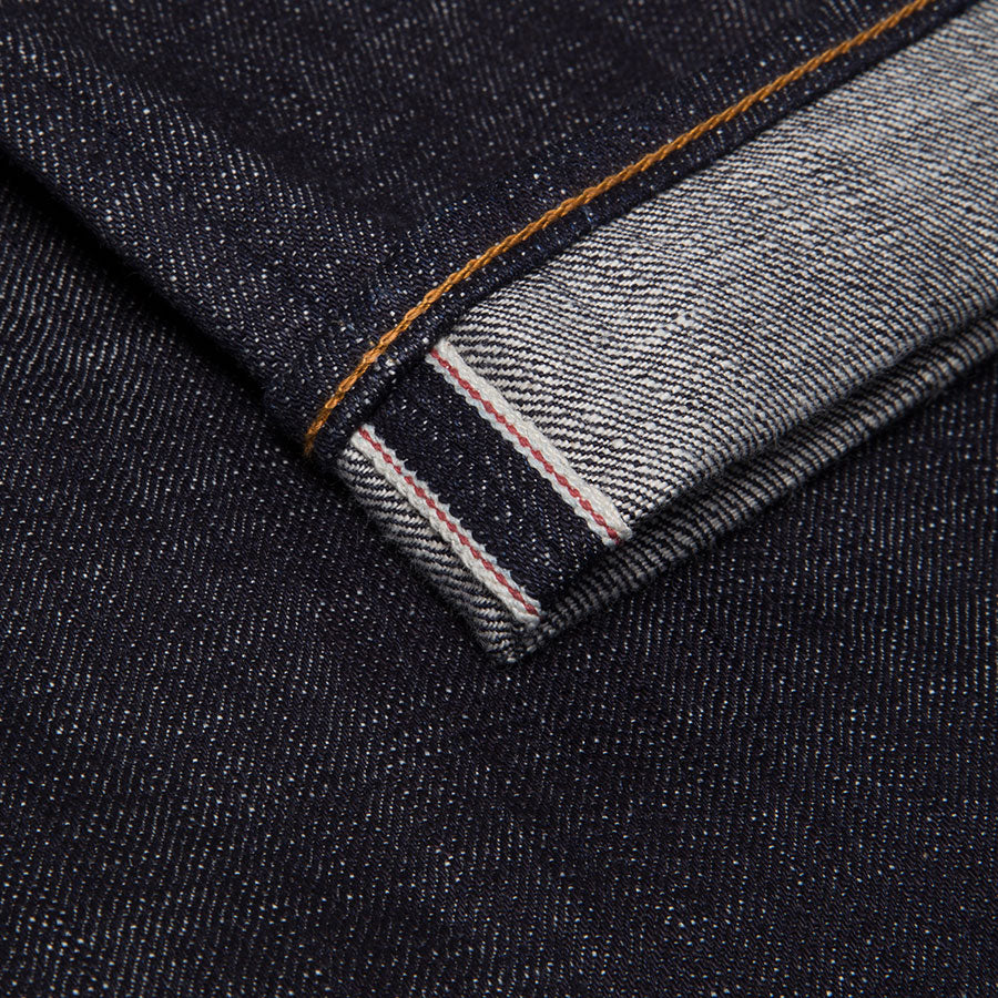 men's slim fit japanese selvedge denim jeans | indigo | made in japan | benzak BDD-006 heavy slub 16 oz. RHT | selvedge id