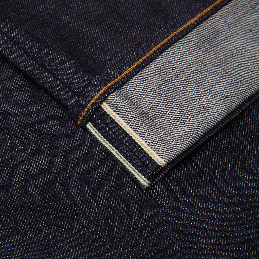 men's slim fit japanese selvedge denim jeans | indigo | made in japan | benzak BDD-006 heavy slub 16 oz. RHT | raw denim