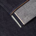 men's slim fit japanese selvedge denim jeans | indigo | made in japan | benzak BDD-006 heavy slub 16 oz. RHT |  cuff pic