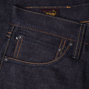 men's straight fit japanese selvedge denim jeans | indigo | benzak BDD-707 special #1 low tension 14 oz. RHT | coin pocket