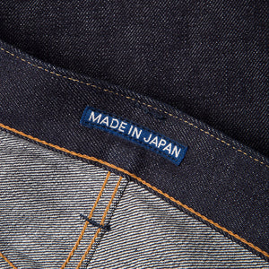 men's slim fit japanese selvedge denim jeans | indigo | made in japan | benzak BDD-006 heavy slub 16 oz. RHT | japan label