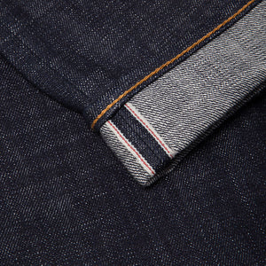 men's tapered fit japanese selvedge denim jeans | indigo | benzak BDD-711 heavy slub 16 oz. RHT | selvedge id