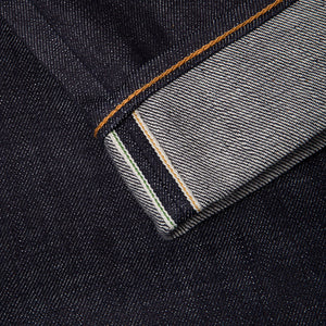 men's tapered fit japanese selvedge denim jeans | benzak BDD-711 special #1 low tension 14 oz. RHT | selvedge id