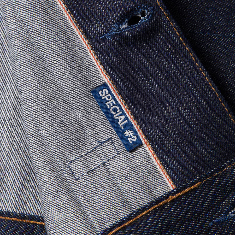 men's denim jacket | made in italy | BDJ-01 COWBOY JACKET 15 oz. vintage indigo selvedge | benzak | selvedge