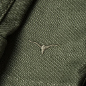 BWS-03 MILITARY OVERSHIRT 10 oz. army green military twill