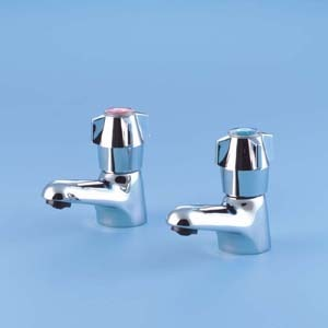 Armitage Nimbus Chrome Bath Taps (S7200AA)