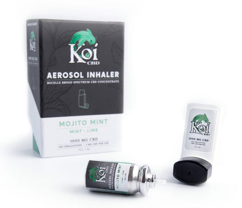 Koi Hemp Extract CBD Inhaler
