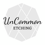 UnCommon Etching - Logo