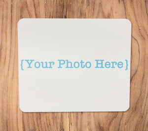 Custom Full-Color Photo Imprinted Mousepad