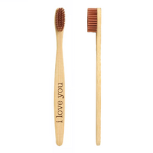 Load image into Gallery viewer, Personalized Bamboo Natural Toothbrush - uncommon-etching