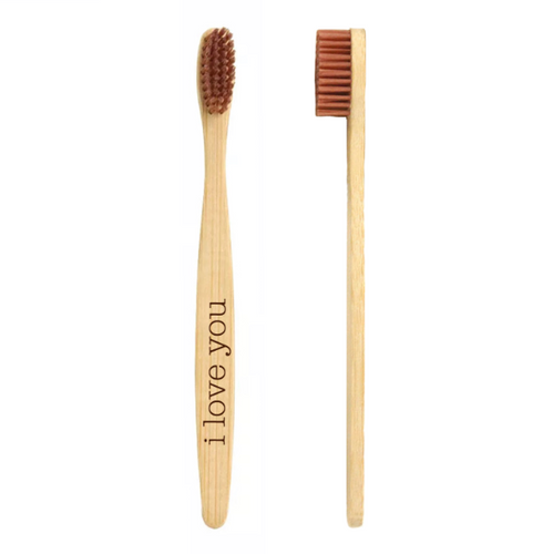 Personalized Bamboo Natural Toothbrush - uncommon-etching
