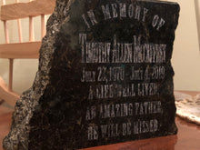 Load image into Gallery viewer, Custom Granite Memorial Slabs - uncommon-etching