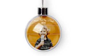 Customizable Full Color Hanging Ball Ornament