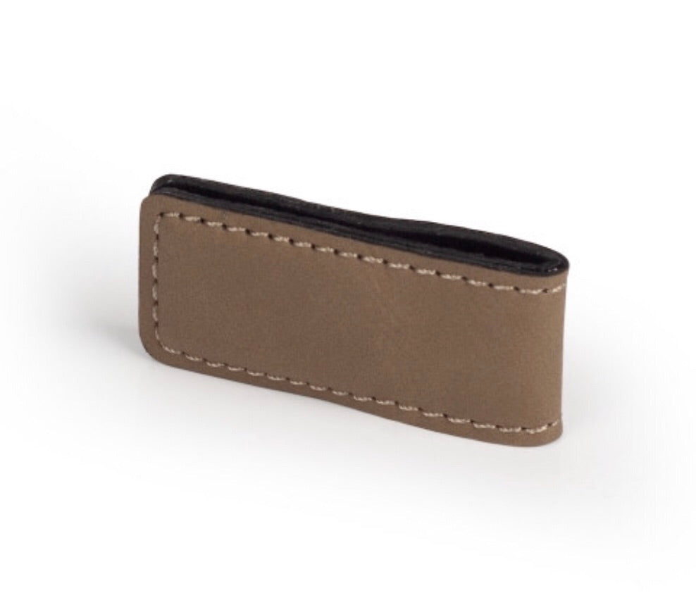 Personalized Leather Money Clip Wallet - uncommon-etching