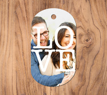 Load image into Gallery viewer, Full Color Picture Custom Aluminum Keychain/Dog Tag
