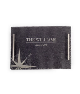 "13.78"" X 9.84"" PERSONALIZED SLATE TRAY - uncommon-etching"