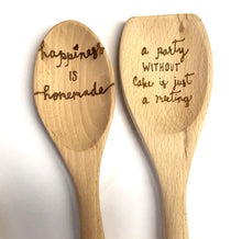 Load image into Gallery viewer, Personalized Full-Length Wooden Spoon - uncommon-etching